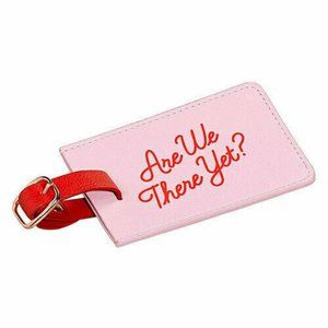 *ADD ON* NWT Yes Studio Pink Luggage Tag